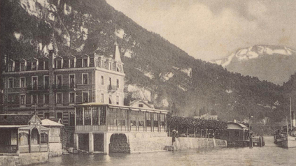 Hotel Pension Rigibahn nach 1903